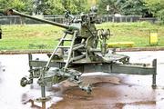 зенитная пушка 61-К в Малоярославце