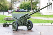ЗиС-2 пушка памятник в Малоярославце