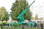 52-К зенитная пушка памятник в Митино