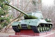 Памятник танк ИС-2 в Серебряном Бору