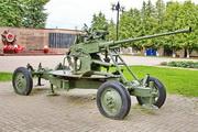 зенитная пушка памятник в Можайске
