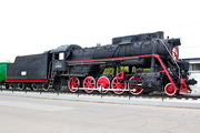 памятик паровозу Л-1822 в Мценске