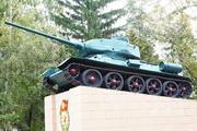 Памятник танк Т-34-85 в Мценске