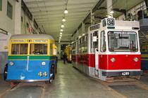 Музей техники городского электрического транспорта Санкт-Петербурга
