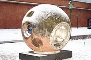 "Спускаемый аппарат спутника ""Комета"" в музее космонавтики им. Глушко"