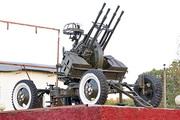 Памятник пушка ЗПУ-4 в Нарышкино