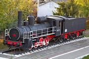 памятик паровозу Ов-4775 в Орле