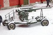 52-К зенитная пушка памятник в Петропавловской крепости