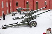 МЛ-20 гаубица пушка памятник в Петропавловской крепости