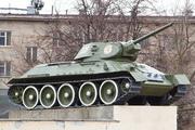 Памятник танку Т-34-76 на Поклонной горе