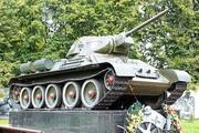 Памятник танк Т-34-76 в Пушкино