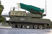 пусковая установка 9А310 Бук на ВДНХ