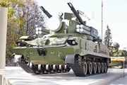 зенитная установка 2С6М Тунгуска на ВДНХ