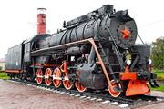 памятик паровозу Л-3645 в Венёве