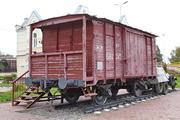 вагон-теплушка памятник в Венёве