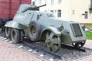 Бронеавтомобиль БА-11 в Венёве