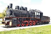 памятик паровозу Эм 740-38 в Верховье