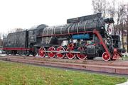 памятик паровозу Л-5122 в Ярославле