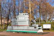 """памятник рубка подводной лодки М-104 """"Ярославский комсомолец"""" в Ярославле"""