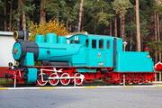 памятик паровозу Гр-332 в Ярославле