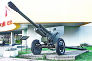 ЗиС-3 пушка памятник в Ярославле