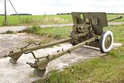 ЗиС-3 пушка памятник у села Вяжи-Заверх