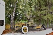зенитная пушка 61-К на Мемориале у села Вяжи-Заверх