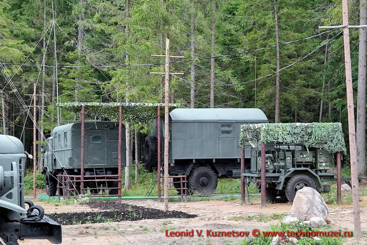 Лагерь связистов в Парке Патриот