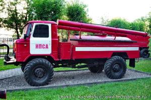 Пожарная цистерна АЦ-30(66) модель 146 в музее пожарной техники в Иваново