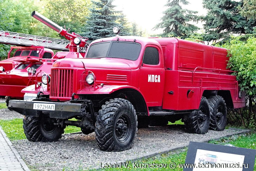 Пожарная насосная станция ПНС-100 (157) в музее пожарной техники в Иваново