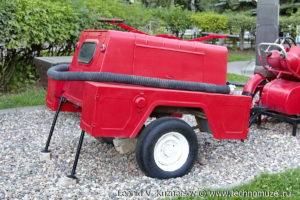 Пожарная мотопомпа МП-1600 в музее пожарной техники в Иваново
