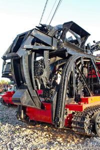 Траншейная машина БТМ-3 в музее пожарной техники в Иваново