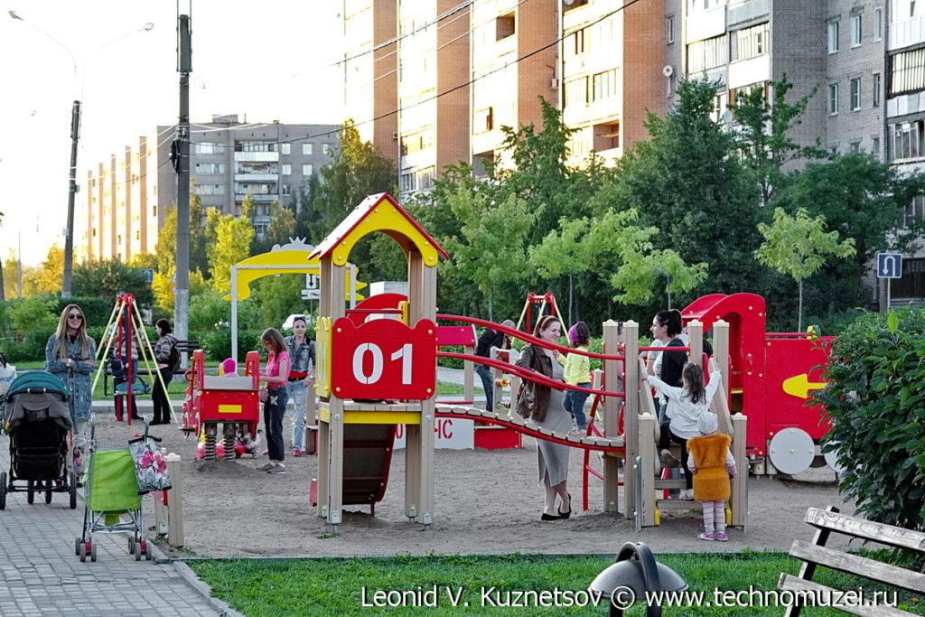 Детская площадка на улице Огнеборцев в Иваново