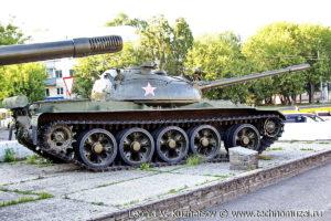 Танк Т-55 на выставке военной техники в парке 35-летия Победы в Кинешме