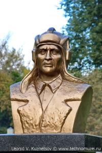 Памятник А.А.Рафтопулло на мемориале танкистам на трассе М2 у города Орел
