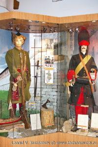 Форма солдат эпохи Петра I Музей Вооруженных Сил в Москве