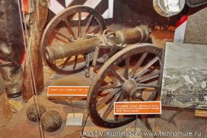 Модель 6-фунтовой пушки 1805 года Музей Вооруженных Сил в Москве