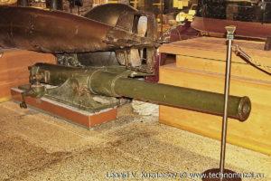 Ствол русской полевой 76,2-мм скорострельной пушки Музей Вооруженных Сил в Москве