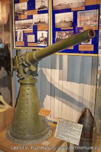 Скорострельная пушка Гочкиса калибра 47-мм 1885 года Музей Вооруженных Сил в Москве