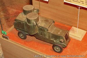 Ленинский броневик Музей Вооруженных Сил в Москве