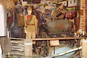 Пулеметная тачанка Первой Конной армии Музей Вооруженных Сил в Москве