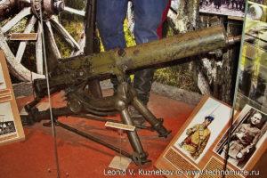 7,92-мм станковый пулемет системы Шварцлозе-Янечека Музей Вооруженных Сил в Москве