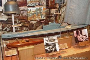 Модель английской подводной лодки L-55 Музей Вооруженных Сил в Москве