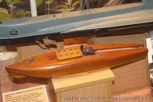 Модель английского торпедного катера СМВ-62 Музей Вооруженных Сил в Москве