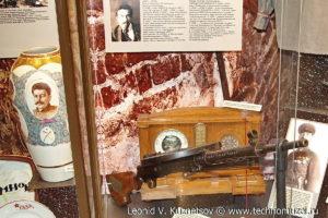 Пулемет Дегтярева подарок К.Е.Ворошилову Музей Вооруженных Сил в Москве