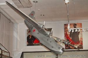 Модель морского бомбардировщика АНТ-44 (МТБ-2) Музей Вооруженных Сил в Москве