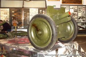 76-мм полковая пушка образца 1927 года Музей Вооруженных Сил в Москве