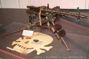 Немецкий 7,92-мм станковый пулемет MG-34 Музей Вооруженных Сил в Москве