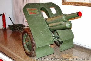 76-мм горная пушка 17-й горно-кавалерийской дивизии Музей Вооруженных Сил в Москве