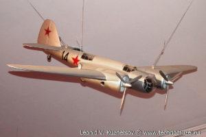 Скоростной фронтовой бомбардировщик СБ-2 (АНТ-40) Музей Вооруженных Сил в Москве